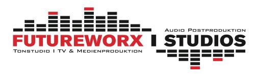 Futureworx I Studios I Tonstudio I TV & Medienproduktion I Audio Postproduktion